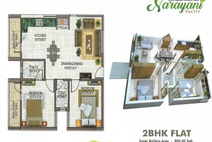 Narayani Incity Floor Plan 1