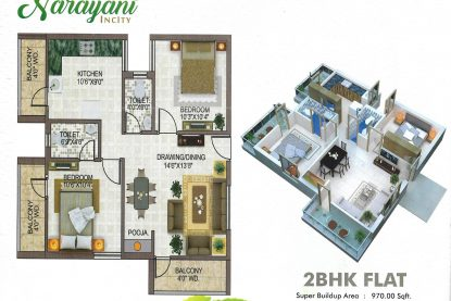 Narayani Incity Floor Plan